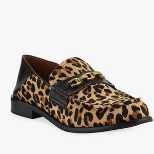 Coach Putnam Leopard Print Loafers NWT